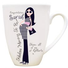 Fabulous Mummy To Be Latte Mug